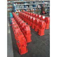 DRG01-D06-63 双作用拨叉气动执行器 大口径阀门气缸 大型气动执行器 大口径球阀气缸