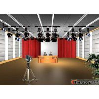 天创华视天气预报类虚拟演播室搭建,4k虚拟演播室抠像设备