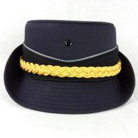 厂家定制各种保安帽铁路物业女士白色帽特行帽子演出制服道具帽
