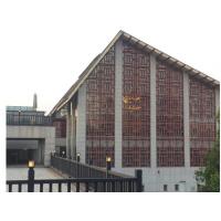 广州【德普龙】热转印工艺木纹铝窗花大量供应
