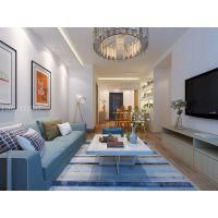 青岛阔达装饰:中海蓝庭105平现代风格