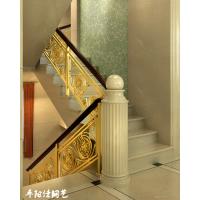 深圳铜楼梯扶手厂家 铜扶手生产厂家