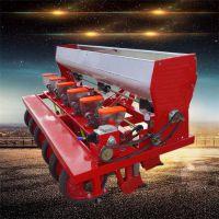 6行桔梗播种机 下种量可调的秋葵精播机 芫荽播种机厂家