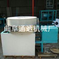 杂粮面粉石磨机 通达 粮食加工石磨机 粗粮面粉机 70型
