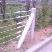 缆索护栏@公路绳索护栏@景区钢索防撞栏