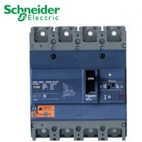 施耐德漏电塑壳断路器EZD160E4160ELN 160A 25kA 4P剩余电流保护
