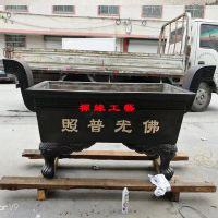 供应长方形平口铸铜香炉福建莆田佛堂祖祠香炉铸造厂