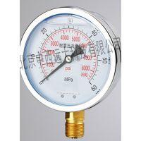中西(LQS)径向YN100耐震压力表 型号:M203503库号:M203503