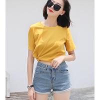 便宜女装上衣韩版库存服装便宜T恤女士上衣尾货批发广州市场低价清