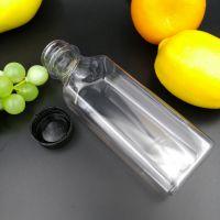 透明果汁瓶酵素瓶 PET高透塑料瓶 酵素果汁瓶 杨梅汁包装瓶350ml