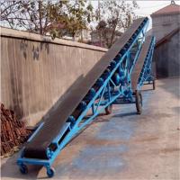 粮食下运带式输送机 兴亚厂家制作皮带输送机视频