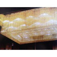 供应现代简约水晶LED酒店工程灯