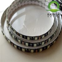 led5050黑板灯带七彩RGB/单色软灯条户外装饰亮化滴胶防水