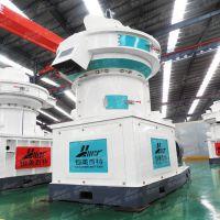 木屑颗粒机青州生物质制粒客户生产线现场山东恒美百特牌颗粒机设备