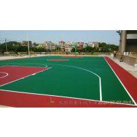 贵州市篮球场地坪建设 南明公园优质篮球场地面原材料生产厂家施工设计