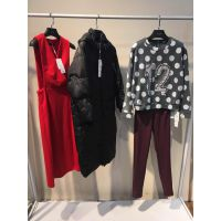 品牌女装折扣批发货源欧美女装外套序幕16冬时尚个性尾货库存走份