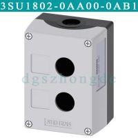 3SU1802-0AA00-0AB1西门子3SU18020AA000AB1灰色2位空按钮盒
