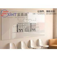 深圳商务办公会议写字白板7龙岗磁性展示板留言板7可挂式易擦板