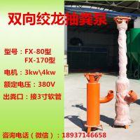 厂家直销安徽地区立式小型抽粪泵 鸡粪抽粪泵 猪粪抽粪泵
