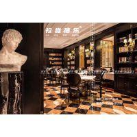 上海法式西餐厅桌椅西餐厅实木椅子定做生产厂家