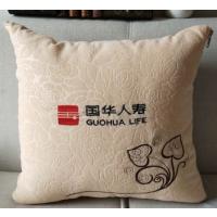 合肥抱枕批发团购 广告抱枕被定做印logo 外套材质多选