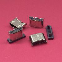 短体4.5MICRO母座/USB 5PIN/立式贴片母座/立贴/直立式SMT贴板式