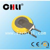 厂家直销3V CR1220插件焊脚电池 学生定位卡 LED控制板电池