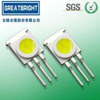 直插平面封装大功率白光 TM-H03WZCPM-E 舞台灯、亮化工程