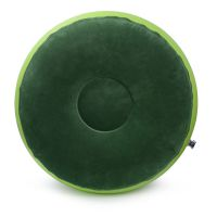 环保PVC充气植绒圆凳 充气植绒坐凳 充气沙发 可定制