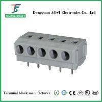 供应弹簧式PCB接线端子DG235W-5.0