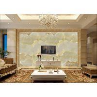 佛山彩虹石品牌 电视墙 大理石纹 玉石 石材雕刻背景墙 艺术瓷砖仿大理石纹