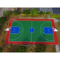 广西钦州市篮球场施工 室外塑胶篮球场地坪价格 康奇体育