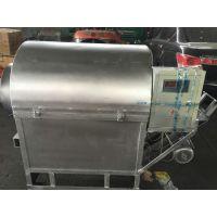 电加热滚筒炒锅机 小型多功能炒货机芝麻大豆炒货机