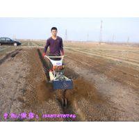 双轮田园管理机 大姜大葱开沟培土机 多功能开沟机