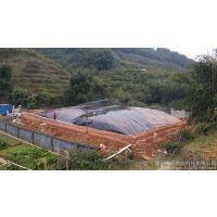 新朔直营HDPE沼气池黑膜,城建标与美标的区别,分别的使用年限