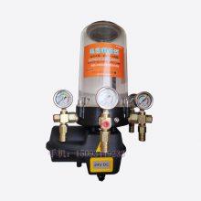 搅拌站设备搅拌主机电动润滑浓油泵 四出口带氧压力表树脂管浓油泵