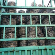 刺绳立柱价格 刀片刺绳一米几圈 刀片刺网多少钱