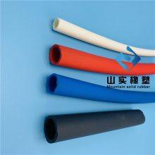 标准级挤出型加厚耐磨抗撕裂胶管 tpv耐低温输送软管 TPV塑料软管 防滑耐冲击防护套