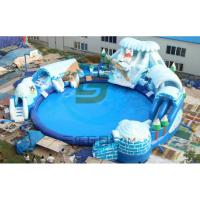 河北三乐SL户外水上游艺设施水上乐园冰雪世界充气浮具设计定制