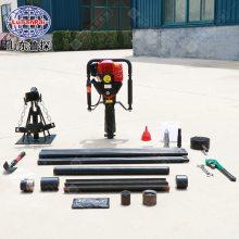 汽油机便携式取土钻机QTZ1取样钻探机