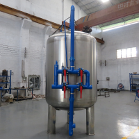 生活污水前置预处理全自动反冲洗过滤器 晨兴制造除浊过滤器装置
