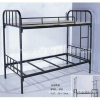 上下铺铁床双层铁架床学生金属公寓床简约员工宿舍铁架床厂家