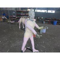 仿真人物模型 仿真电影人物道具 电动人物模型