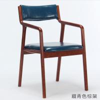 倍斯特简约现代实木扶手椅创意中餐休闲甜品厂家定制