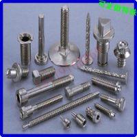 不锈钢四方头螺丝定做 不锈钢菱形头螺丝钉定做 广州番禺螺丝厂