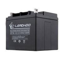 LEADHOO品牌 全国批发 12V38AH铅酸蓄电池