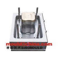 10L油漆桶模具食品塑料桶模具涂料桶盖子模具黄岩模具设计制作公司