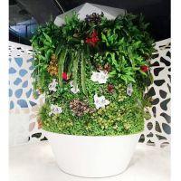 北京公司直销仿真包柱子遮丑植物墙 人造绿植墙软装装饰 免费设计可来图定制