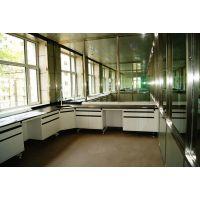 学校试验台 实验室边台 钢木转角台 工业实验桌化验室钢木实验台 LUMI