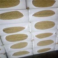 上海市贴防火铝箔岩棉板一平米价格 屋面岩棉保温板 富达